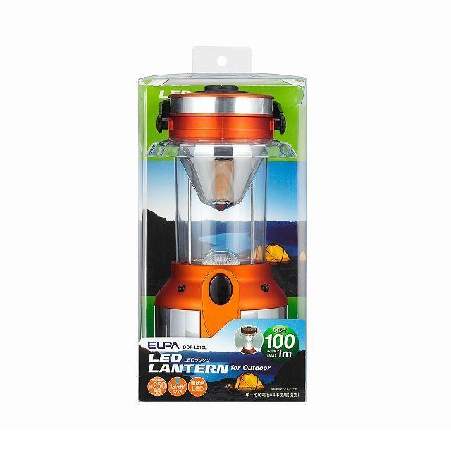 朝日電器(ELPA) [DOP-L010L] LEDランタン DOPL010L
