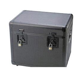 【個数:1個】トラスコ中山 TRUSCO TAC540BK 万能アルミ保管箱 黒 543X410X45 416-2951 【送料無料】