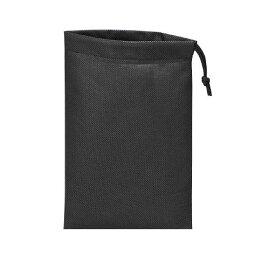 トラスコ中山 TRUSCO TNFD10S 不織布巾着袋10枚入 黒 260X180MM