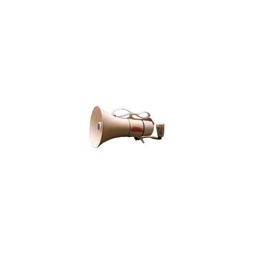 【あす楽対応】ノボル電機製作所(ノボル) [TM208] ショルダータイプメガホン13Wホイッスル音付き【電池別売 433-4256 【送料無料】