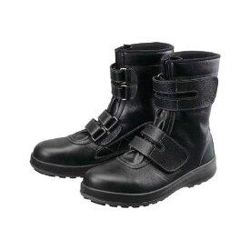 【あす楽対応】シモン[WS3824.0] 安全靴 長編上靴 マジック WS38黒 24.0cm 【送料無料】【ポイント5倍】