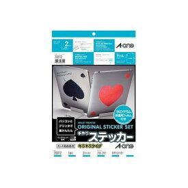 A-one(エーワン) [28812] 手作りステッカー[インクジェット]キラキラタイプ A4 1面 4906186288125【AKB】【ポイント5倍】