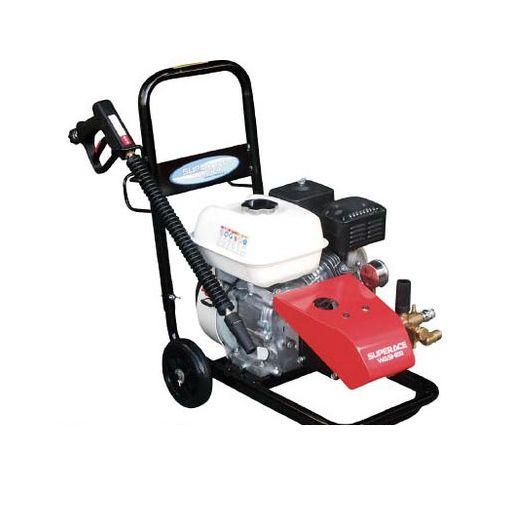【個数:1個】スーパー工業 [SEC10152N] エンジン式高圧洗浄機SEC1015−2N【コンパクト&カート型】 【送料無料】