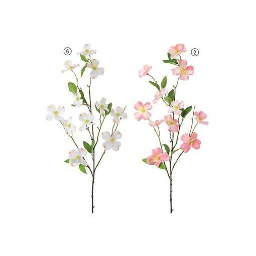 【造花・装飾】【数量限定につき、売切の際はご了承ください】[FLSP38866] ハナミズキ【11】 ホワイト FLSP3886