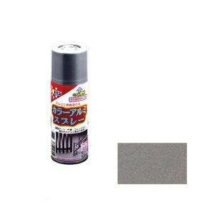アサヒペン 4970925507952 カラーアルミスプレー 300ML シルバーメタリック