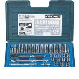 シグネット 工具 SIGNET 12733 3/8DR 33PC mm ソケットレンチセット 12733【ポイント5倍】
