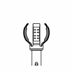 【あす楽対応】ジェフコム(JEFCOM) [DLC-CH2] ランプチェンジャーキャッチヘッド DLCCH2 366-5178
