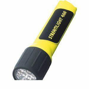 【あす楽対応】ストリームライト(STREAMLIGHT) [68201] プロポリマー4AA 7LED (イエロー) 電池付 68201