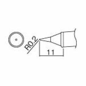 【あす楽対応】HAKKO(白光)ハッコー [T12-W1] 鉛フリー対応T2型ハンダゴテ T12W1 297-7010