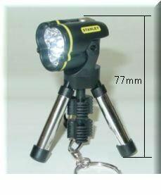 STANLEY WORKS [V951134] 95−113 三脚フラッシュライト ミニ 黒 V951134【ポイント5倍】