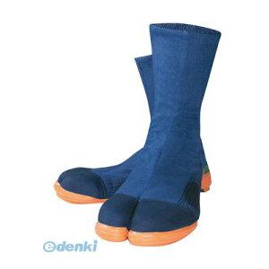 ユニワールド 4560101487361 安全足袋 鉄先芯入り縫付地下足袋 ファスナータイプ 24.5cm 2000