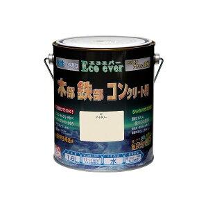 ニッペホームプロダクツ 4976124035647 水性エコエバー アイボリー 1.6L