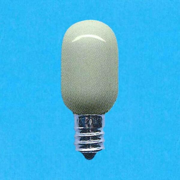 【あす楽】アサヒ ナツメ球 110V 5W 口金E12 ホワイト T20E12110V-5W(S)