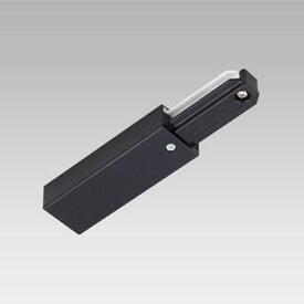 【あす楽】東芝 フィードインキャップ 黒色 ライティングレール用 NDR0231K