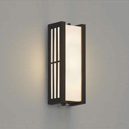 コイズミ照明 LEDポーチライト 人感センサ付 白熱球60W相当 電球色 AU38393L