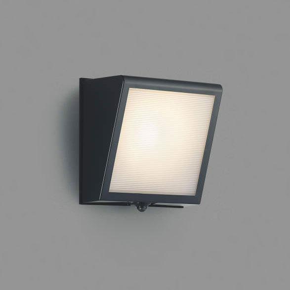 コイズミ照明 LEDポーチライト 人感センサ付 白熱球40W相当 電球色 AU42354L