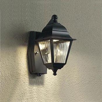 大光電機 LEDポーチライト 人感センサ付 白熱球60W相当 電球色 DWP-38470Y