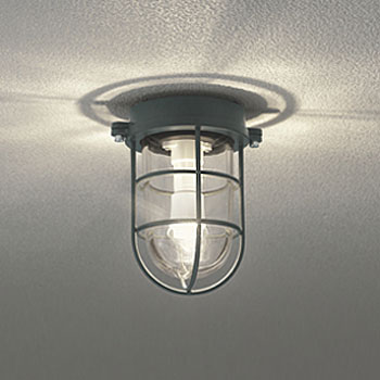 【送料無料】オーデリック LEDポーチライト 白熱球40W相当 電球色 チャコールグレー色 OG254608LD