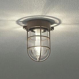 【あす楽】【送料無料】オーデリック LEDポーチライト 白熱球40W相当 電球色 鉄錆色 OG254609LD