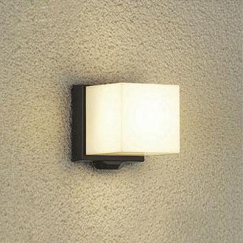 大光電機 LEDポーチライト 人感センサ付 白熱球60W相当 電球色 ブラック DWP-39653Y