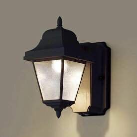 【あす楽】【送料無料】パナソニック LEDポーチライト センサ付 白熱球60W相当 電球色 LSEWC4033LE1