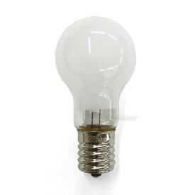 テスライティング ミニクリプトン電球 40W形 ホワイト 口金E17 PS形 [25個セット] KR110V36WW-25SET