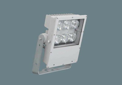 PanasonicNYS10347LF2LED(昼白色)投光器1】10ビーム角86度・広角形(60度〜)防噴流型・耐塵型・タイマー段調光・定格出力初期光束補正型・重耐塩害仕様パネル付型マルチハロゲン灯Lタイプ1000形1灯器具相当