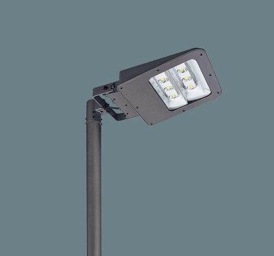 ◆受注品◆PanasonicXY4409ZLF9ポール取付型LED(アカルミナホワイト色)モールライト明光色・フロント配光防雨型・タイマー段調光・定格出力初期光束補正型アカルミナパネル付型水銀灯400形1灯器具相当1000形