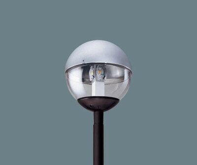 PanasonicXY7566KLE9ポール取付型LED(昼白色)モールライトポリカーボネート(上半分アルミ)グローブ防雨型水銀灯100形1灯器具相当】HID100形1灯器具相当水銀灯100形