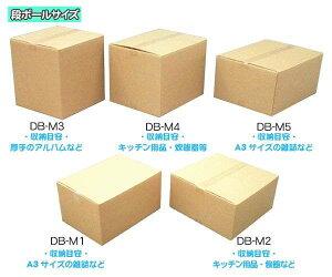 段ボールボックス(ダンボール) DB-M5【幅55×奥行40×高さ24.6(cm)】【アイリスオーヤマ】(ダンボール箱/梱包資材/引越しや衣替えに便利/収納家具、食器、家電の整理に) CX-