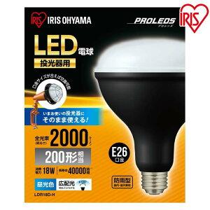 投光器用交換電球 2000lm LDR18D-H アイリスオーヤマ 投光器 led 灯光器 led 交換電球 交換 電球 屋外 屋内 交換用電球 アイリス 灯光器 アイリス 投光器
