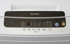 全自動洗濯機5.0kgIAW-T501送料無料一人暮らしひとり暮らし単身新生活ホワイト白5kg部屋干しアイリスオーヤマ