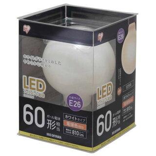LEDフィラメント電球ボール球タイプE2660WLDG7-G-FCクリアホワイトアイリスオーヤマ26口金モダン北欧レトロヴィンテージ西海岸インテリア