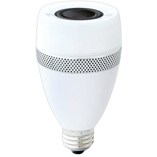 【送料無料】スピーカー付LED電球E2640形相当電球色LDF11L-G-4Sアイリスオーヤマスピーカー電球LED音楽を楽しむ照明音楽