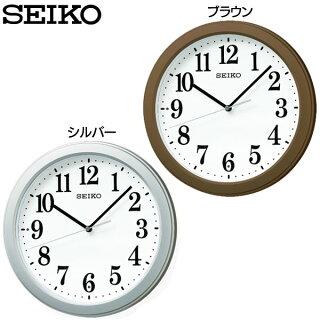 セイコー電波掛時計KX379B・KX379Sブラウン・ピンクSEIKO【D】【HD】【時計ブランド掛時計新生活】