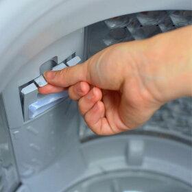 洗濯機全自動5.0kgせんたく機風乾燥35Lコンパクト白グレーGrand-Line全自動洗濯機