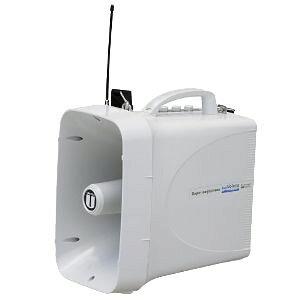 【送料無料】ユニペックス 〔UNI-PEX〕 〔UNI-PEX〕 防滴スーパーワイヤレスメガホン Rain Voicer(レインボイサー) TWB-300N【KM】【TC】〔選挙用 拡声器 工事現場・交通整理・学校行事・防災訓練