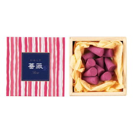 お香 線香 かゆらぎ 薔薇 バラ ローズ コーン 12個入 38455 日本香堂 Nippon Kodo 日本製 お線香 棒状 香 香り アロマ お花 お部屋香 ギフト プレゼント 贈答用