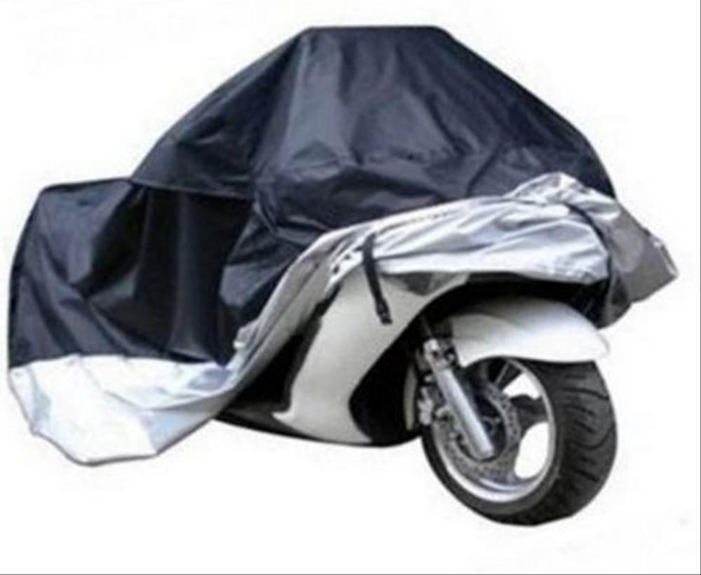 人気二枚重ねのバイクカバー 防水■XXXLサイズ愛車を傷付けないカバー 携帯用専用袋付きL265*W105*H125cm 10P04Mar17