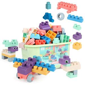 積み木 やわらかい ブロックおもちゃ 知育玩具 DIY立体パズル 幼児 入園 保育園 小学生 孫 男の子 女の子 贈り物 誕生日 出産祝い 入園 クリスマスプレゼント かわいい マカロン色 収納ケース