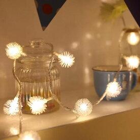 LEDイルミネーションライト 100球10m インテリアライト ストリングライト クリスマス 飾り 防水 屋外対応 8つ点灯パターン