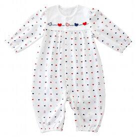 日本製 出産準備 出産祝い ベビー服 新生児 ツーウェイオール 春 夏 天竺 男の子 女の子 トリコロール