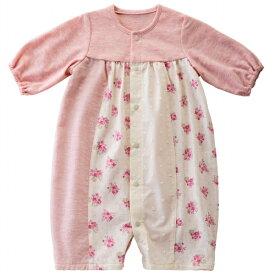 9ca2cd897b3c9  公式ショップ 赤ちゃんの城 ベビー服 プレオール リトルブーケ 50 60 女の子 オーガニック ボタニカル