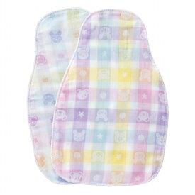 【公式ショップ 赤ちゃんの城】汗取りパッド(2枚組) カラフル 日本製