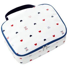 【公式ショップ 赤ちゃんの城】おむつポーチ 日本製 おむつケース トリコロール