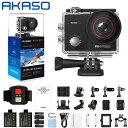 【マラソンSALE期間併用可777円クーポン配布】AKASO EK7000 PRO アクションカメラ 4K高画質 16MP画素 170度広角レンズ…