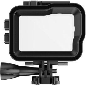 AKASO BRAVE 7 アクションカメラ用防水ケース 40m水深ダイビング 防水防塵保護ハウジング 水中撮影用
