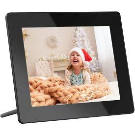 【楽天市場限定バージョン】Dragon Touch Classic8デジタルフォトフレーム WiFi 8インチデジタルフレーム フルHD1080P 壁掛け式フォトフレーム 16GB内蔵メモリ 写真 音楽 動画再生 天気予報 カレンダー アラーム機能付き