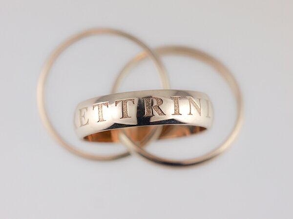 【カルティエ Cartier】OR AMOUR ET TRINITY クリスマス限定 三連リング #52号 指輪 ホワイトゴールド K18WG 【中古】【新品仕上げ】