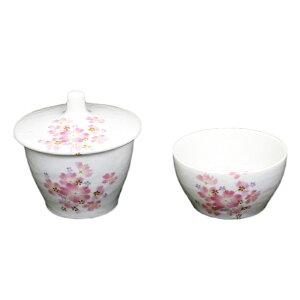 創価学会 仏具 磁器製仏茶器セット「和桜(ホワイト)」